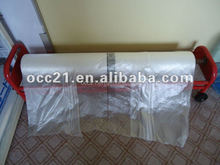 Static Masking Film 4M X 150M Clear Polythene Sheeting Car Plastic Cover