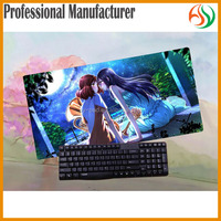 AY Sex Cartoon Toy Style And PVC Material Board Game Playmat Custom Yugioh Keyboard Playmat