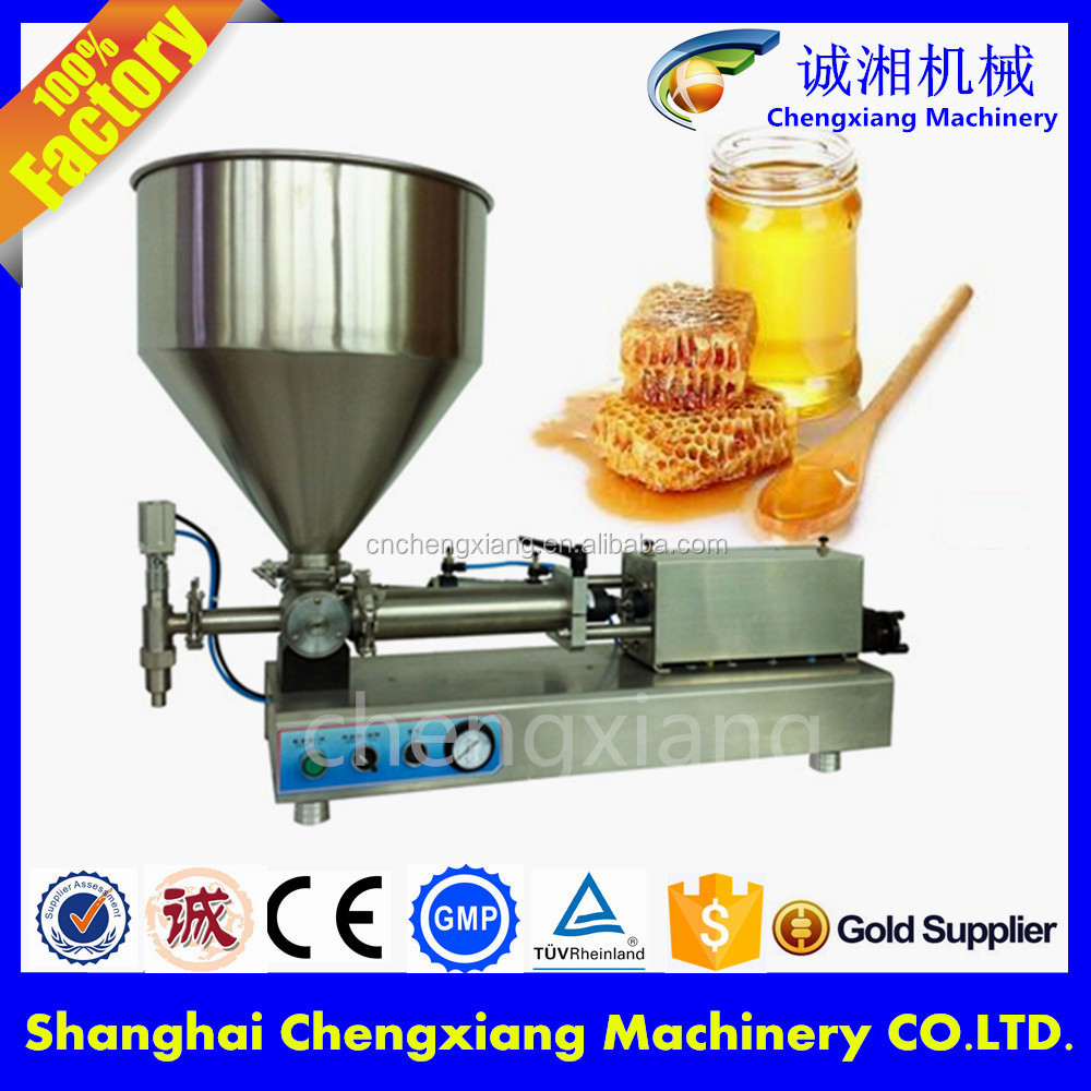 Trade assurance CE certification manual honey jar filling machine,semi-automatic filling machine for alcohol