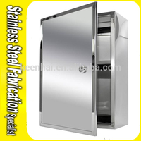 Stainless Steel Storage Cabinet Filing Cabinet Single Door Cabinet