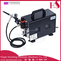 AS19BK airbrush makeup air compressor