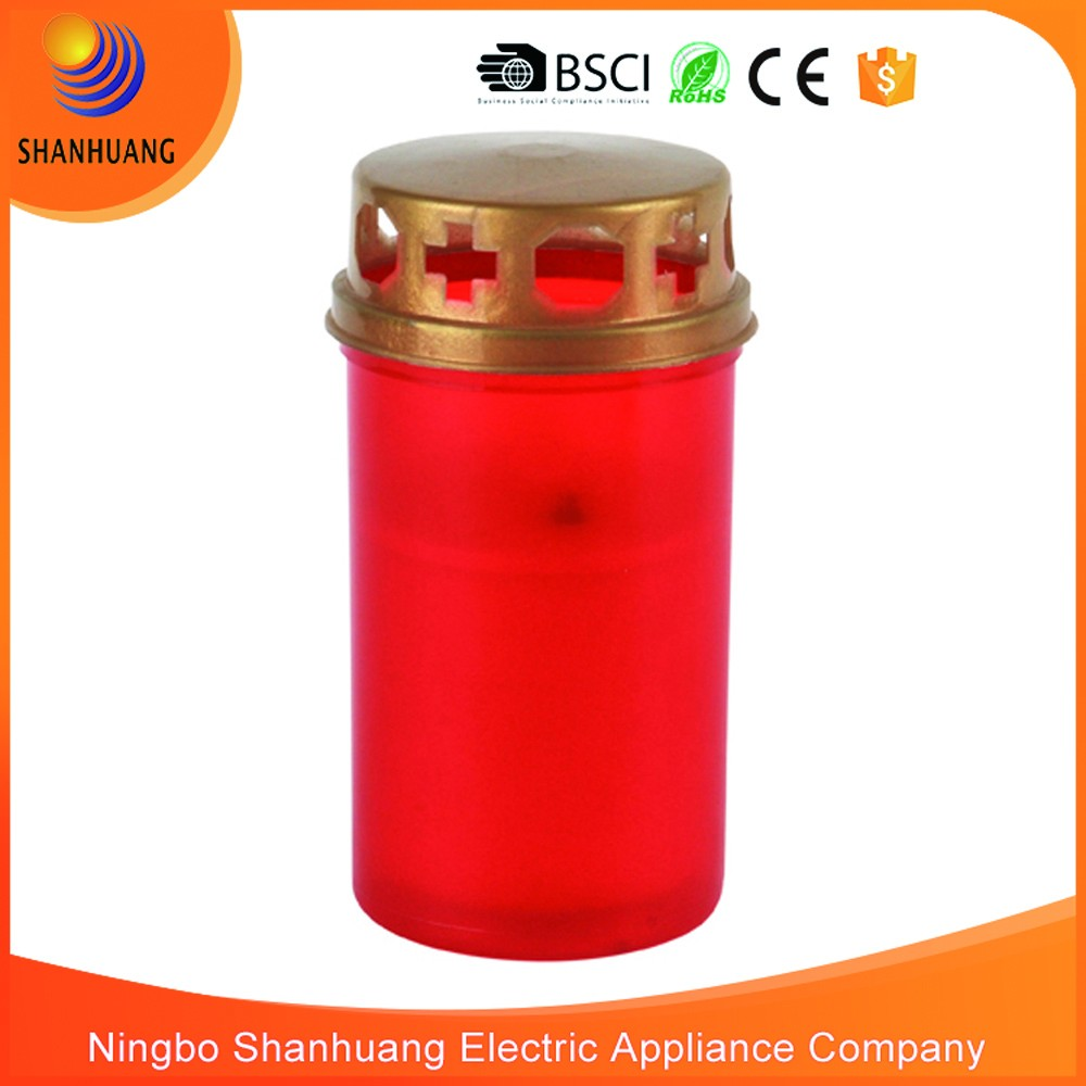 CE ROHS hot sale good quality LED Cemetery candle light cemetery lantern