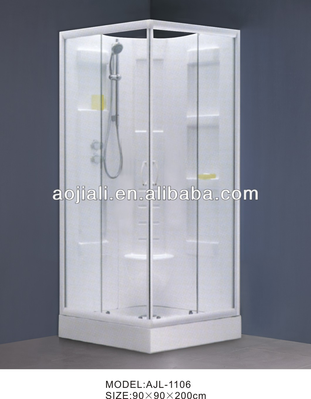 Temporary Shower Enclosures : นกเพนกวินง่ายห้องอาบน้ำฝักบัวแบบพกพาajl ตู้อาบน้ำ