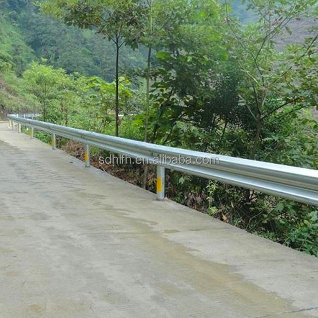 Road Safety Galvanized Highway Road Guard rail