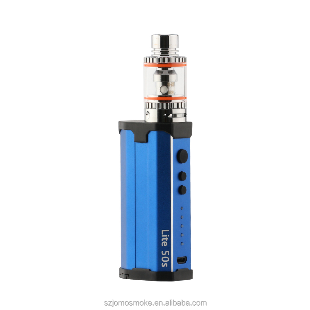 Original 50w Vapes VW 20W 30W 40W 50W JOMO TC vapor mod Lite 50s huge cloud vape in stock