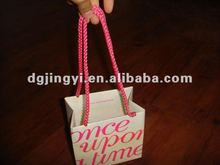 wholesale paper gift bag with long rope