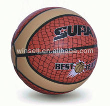 Hot selling bottom price pu material basketballs