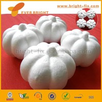 Craft White Styrofoam Pumpkin