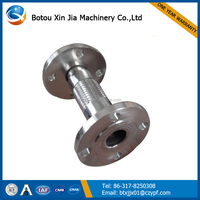 stainless steel hose exhaust bellows/large diameter flexible hose/international metal hose company