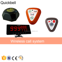Quickbell Receiver And Button Pager Restaurant