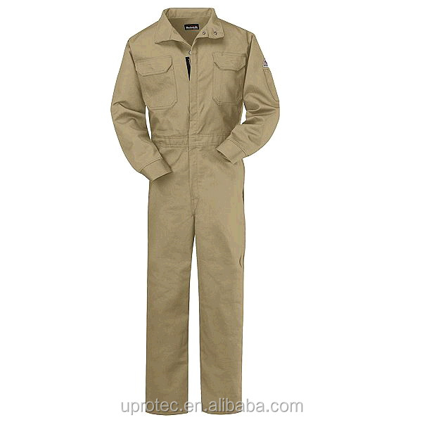 Hot Sell Safety Work Boiler Suit/Fire Resistant Work Uniform/Anti-flame Workwear