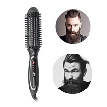 2019 New Arrival Beard Straightener Comb And Hair Curling Iron Hot Sale Hair <strong>Brush</strong>