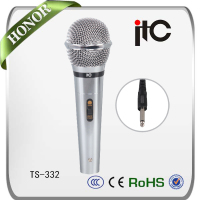 ITC TS-332 Wired Hand Held High Sensitive Dynamic Microphone