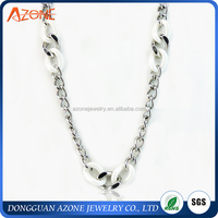 Fashion Necklace Ceramic Necklace Jewelry 316L Stainless Steel Necklace