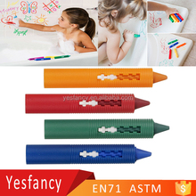 best quality custom colors non toxic bathroom washable crayons for kids