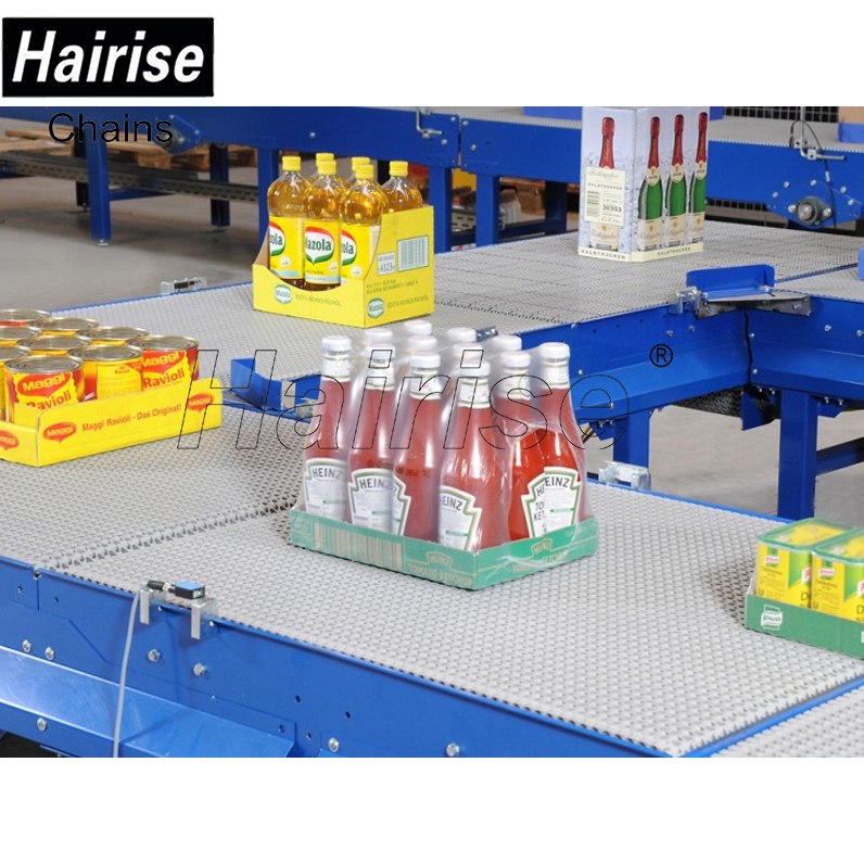 Hairise modular plastic belt assembly line best over head conveyors supplier systems design manufacturing companies