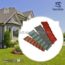 Modern Classical Tile Stone Coated Steel Roofing Tile/Metal Sheet Roof Tiles/Aluminum Zinc Galvalume Roof Material