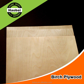 China supplier factory customized model 2/2.5/3/4/5/6/8/10/12mm birch wood plywood
