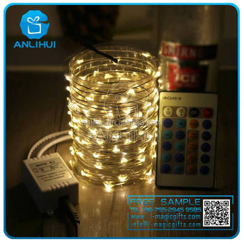 10Meter/string warm white LED fairy lights,12 volt led string lights