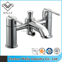 Modern Design Double Handle Bath and Shower Mixer Faucet