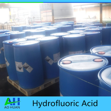 Industry grade Hydrofluoric Acid 49% 55% 70% used for glass etching