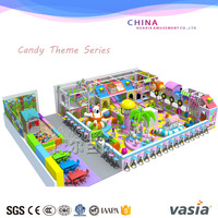 Kids funland soft padded toddler inflatable indoor playground