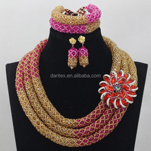 2017 Wedding fashion women african jewelry sets cheap indian jewelry sets