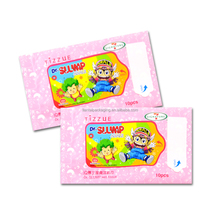 Custom printed beauty product plastic packaging facial mask sheet bag