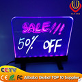 alibaba express hot sale new innovation high-class material transparent glass electronic advertising board