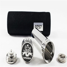 2014 newest stainless steel mechanical mod hades mod ecig mod 26650 wholesale