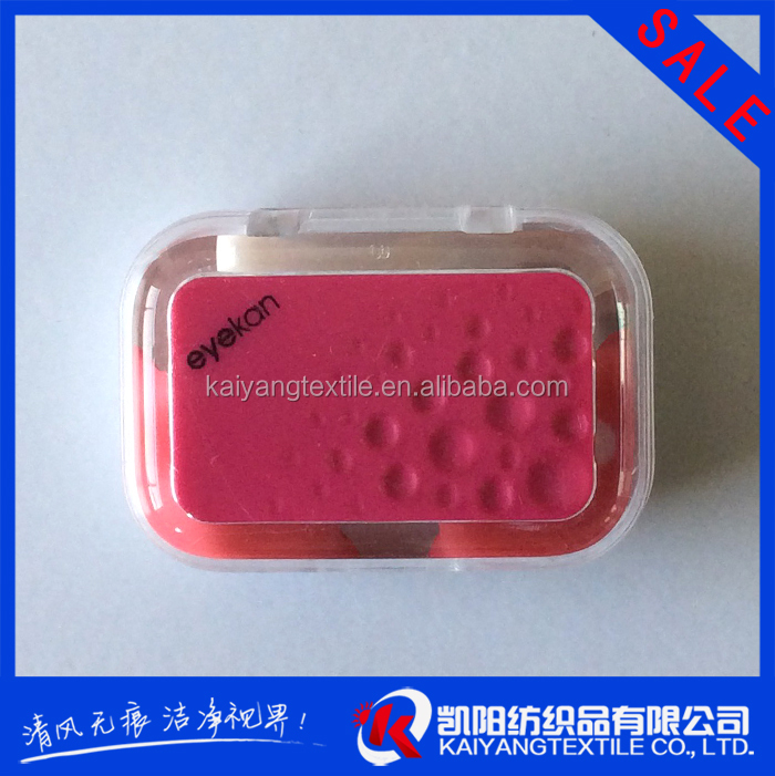2015 new design colorfull wholesale contact lens case with mirror made to order