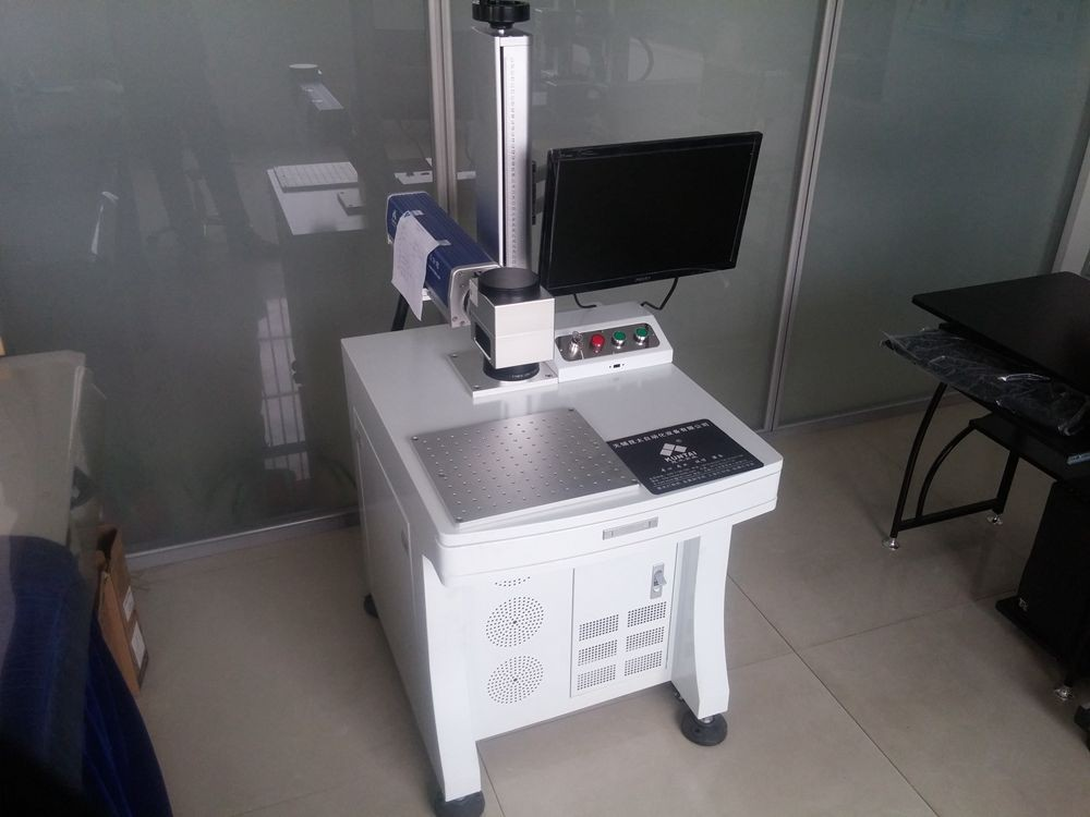 20Watt laser marking machine for aluminium marking, CE approved