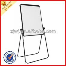 Multi-function black flip chart white board with mobile stand