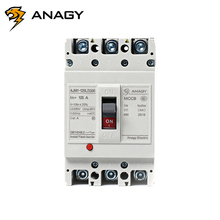 Factory price fully protected 3p DMC resin housing metal contacts electrical circuit breakers