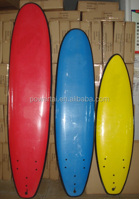 High quality 7' 8' 9' IXPE,XPE foam soft boards surfboard soft top surfboard