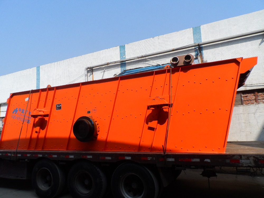 HwaBao Heavy Duty Mining Vibrating Screen, High Capacity Vibrating Screen Manufacturer
