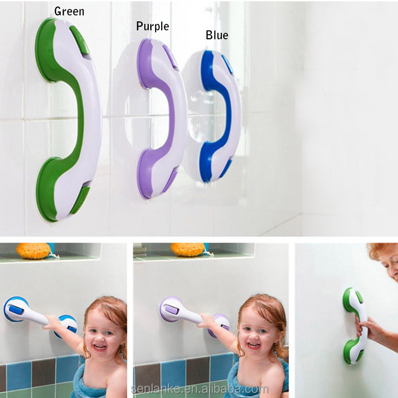 2014 TV Hot sale Suction Cup bathroom holding bar
