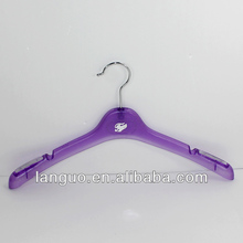 high quality round plastic clothes hangers