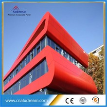 2016 Hot sale Alucobond Aluminum composite panel price list 4mm ACP