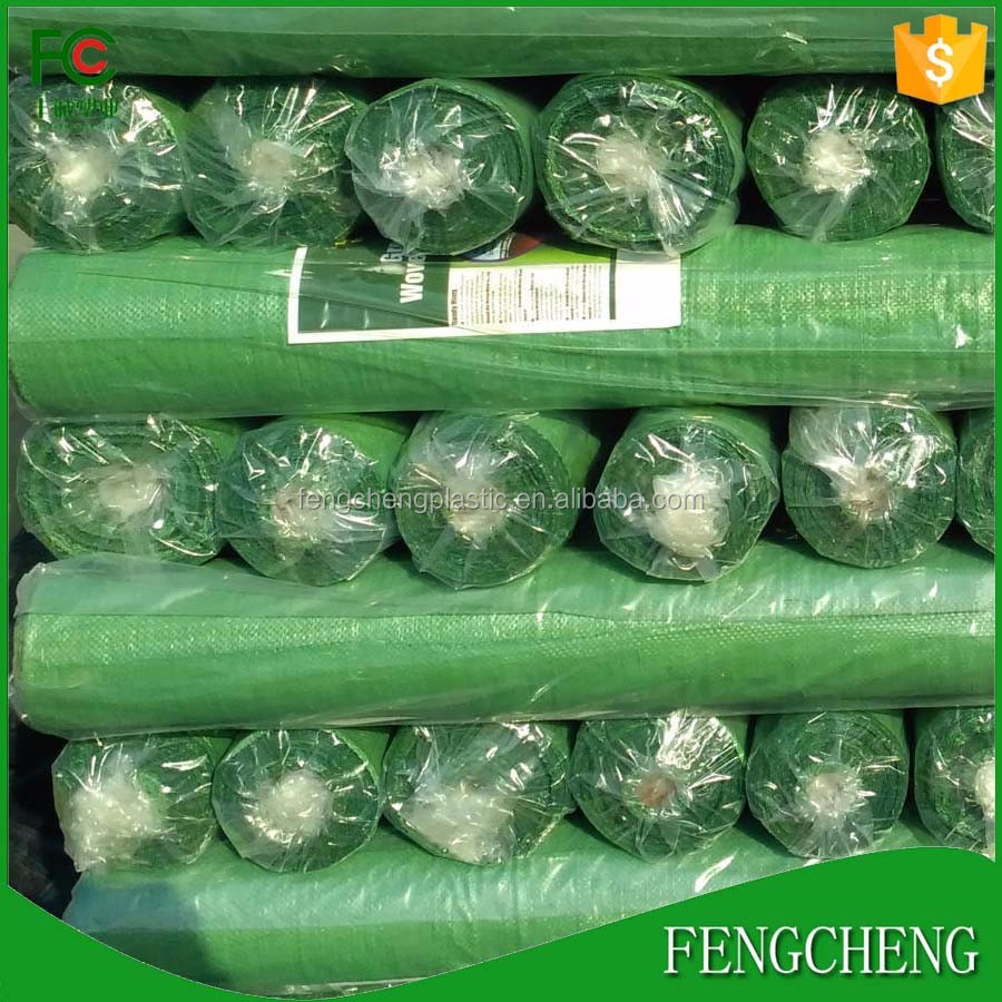 uv protection pp woven weed fabric greenhouse ground cover fabric in rolls