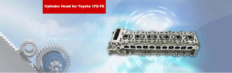 1FZ-FE Cylinder Head for Land Cruiser 6 Cylinder Engine