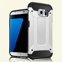 2 in 1 Hybrid Protective Case for samsung s7 cover case