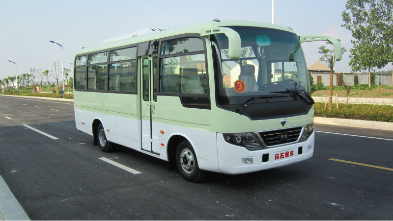 7M small hyundai city bus model for urban transport