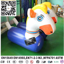 Inflatable jumping horse for racing , 3 size for choice S M L