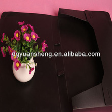 Wholesale custom black a5 office plastic foldable file box in china