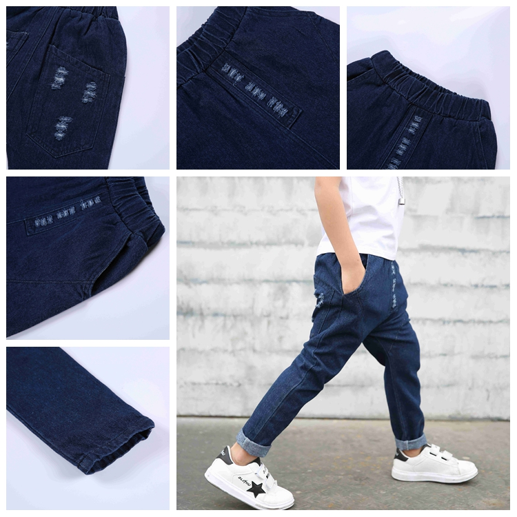 2017 Fashion Man Latest Hot Selling Wholesale Rock Revival Jeans Boys Made In China