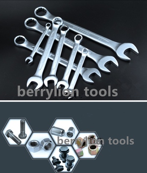 guangzhou berrylion tools 6 mm to 32 mm european combination spanner wrench