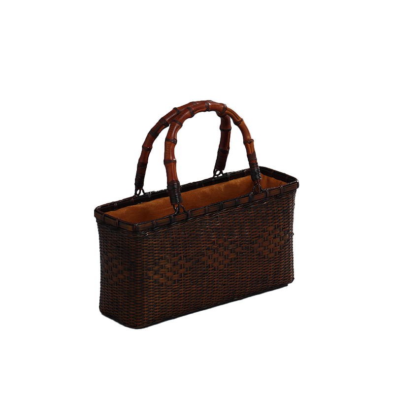 luxury ladies bamboo hand and bag women