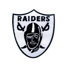 Decorative Clothing Patches Raiders Logo Embroidery Designs