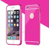 PC Mobile Phone Cover Aluminium Metal Case For iPhone 6, Cover For iPhone 6 Metal Bumper